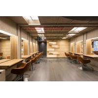 Wholesale Hair Beauty Salon Design in natural wood by work Counters and Artistic shelves with Screen from china suppliers