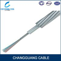 China single mode aerial opgw 24 core fiber optic power cable prices on sale