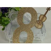 """Wholesale Hight 5 """" Christmas Festival Glitter Cardboard Letters , Number 8 Alphabet Glitter Letters from china suppliers"""