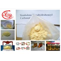 Wholesale Tren Steroid Parabolan Yellow Powder Trenbolone Hexahydrobenzyl Carbonate for Lean Muscle from china suppliers