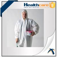 Wholesale 2020-nCov new Coronavirus 25G PP White Disposable Coveralls With Hood And Shoe Cover from china suppliers