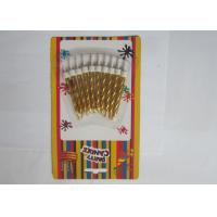 Wholesale Unique Gold Birthday Candles Spray - Painted Paraffin Wax Material With Holders from china suppliers