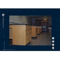 Wholesale Wooden Laboratory Table For College / Physics Laboratory Furniture from china suppliers