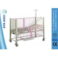 Wholesale Luxury Manual Children Pediatric Hospital Bed Single Functions With Back Rest from china suppliers