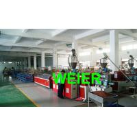 Wholesale High Efficiency WPC Extrusion Line /  Extrusion Machine , Profile Width Max 240mm from china suppliers