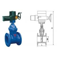 Wholesale RVEX electric resilient seated gate power station valve grey cast iron 50 - 400mm from china suppliers