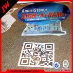 Advertise custom design PVC roll flooring / pvc flooring vinyl sticker