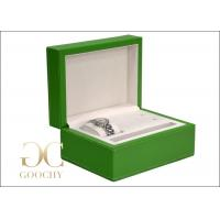 Wholesale Mens Jewelry Boxes For Watches , Green Watch Gift Box For Men from china suppliers