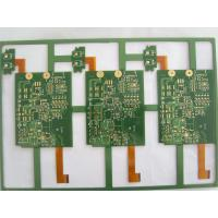 Wholesale 4-Layer , 2-layer FR4 + PI rigid flex pcb 1.6mm + 0.1mm Board Thickness from china suppliers