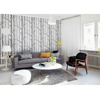 Wholesale Vantage Birch Tree Modern Removable Wallpaper / Wallpaper for Living Room  0.53*10M from china suppliers