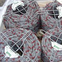 Wholesale Galvanized,Aluminum,Stainless Steel Barbed Tape Wire,Green Red PVC,Vinyl Coated from china suppliers