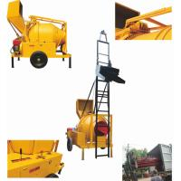 Wholesale Self-loading Concrete Mixer with Lifting Ladder JZC350 DHL from china suppliers