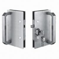 Wholesale Glass Door Lockset with Handles, Made of SUS304 stainless steel with satin finished from china suppliers