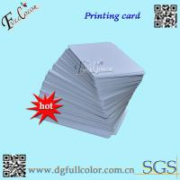 Wholesale Custom Office Print PVC ID Card Blank PVC Cards  86 * 54  Inkjet Printable PVC Card With Free Sample from china suppliers
