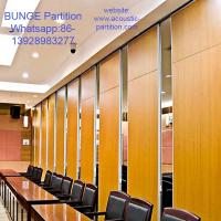 Wholesale Classroom Sound Proof Movable Wooden Partition Wall For Banquet Hall from china suppliers