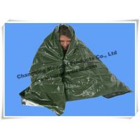 Wholesale First Aid Kits Rescue Emergency Survival Blanket Military Army Green For Soldier from china suppliers