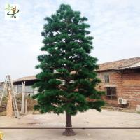Buy cheap UVG new outdoor christmas decorations artificial pine tree for road ornament made in china GRE065 from wholesalers