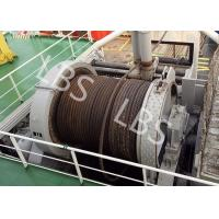 Wholesale 10 Ton 20 Ton 50T Ship Traction Marine Winch With Spooling Device from china suppliers