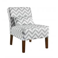 Wholesale Patterned Upholstered Accent Chairs Tight Back , Low Back Living Room Chairs from china suppliers