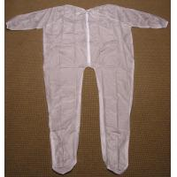 Wholesale 4Mil 5Mil 6Mil Thickness Clear or White Mortuary Garments Vinyl Unionalls Heat Sealed from china suppliers