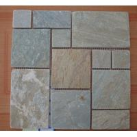Wholesale Natual Yellow Quartzite Flagstone Patio Flooring Pavers P014 Quartz Stone Flagstone Wall from china suppliers