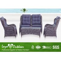 Wholesale Heavy Duty Outdoors Patio Furniture Seating Sets Black / Brown Color from china suppliers