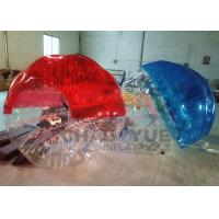 Wholesale Half Color Durable TPU Inflatable Zorb Bumper Ball / Bubble Soccer Football With Pump from china suppliers