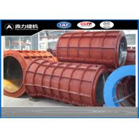 Wholesale Customized Diameter Concrete Pipe Mold For Water Pipe Outer Casing from china suppliers