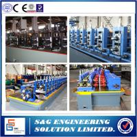 Wholesale 160KW Power Welded Pipe Production Line With Pipe Roll Forming Machine PLC Control from china suppliers