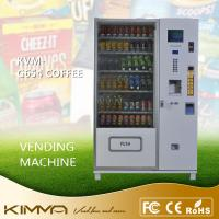 Wholesale Automated Drinks Servicing Vending Drink Machines For Dispense Coffee Bottled Water Snack Center from china suppliers