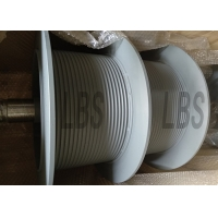 China Crane 2000mm Wire Rope Winch Drum For LBS Hoisting Drum Industries on sale