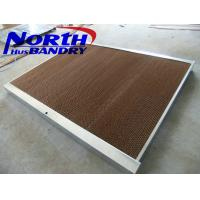 China Honey comb evaporative cooling pad for cooler poultry farm and greenhouse on sale