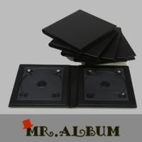 Wholesale Faux leather double CD case with plain cover_CD case holder from china suppliers