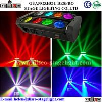Wholesale Full Color Moving Head Stage Light 8 Heads Rotating Stage Beam Light from china suppliers