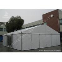 Wholesale Aluminum Alloy Framed Heavy Duty Event Tents With Glass Door and Fabric Cover from china suppliers