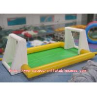 Wholesale Commercial Inflatable Football Arena Hand Painting For Teenagers Games from china suppliers