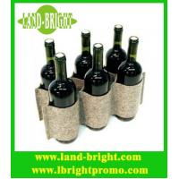 Wholesale Felt 6 Kitchen Wine Rack from china suppliers