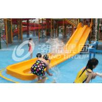 Wholesale Customized 3 Riders Kids' Water Slides Aqua Park Equipment , Pink / Orange / Blue from china suppliers