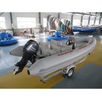 Wholesale Fiberglass Hull Inflatable Rib Boat 18 Ft Sea Eagle Inflatable Boats With Bimini Top from china suppliers