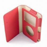Quality Case for MP3/MP4/MP5 Player, Made of Nylon, Neoprene, EVA, PU/Genuine Leather Materials for sale