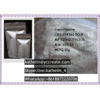 Wholesale Pharma Raw Powder Capecitabine Treatment Of Breast Cancer , CAS 154361-50-9 from china suppliers