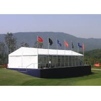 Wholesale 200 Seater Movable Restaurant Marquee Event Tent , Heavy Duty Garden Party Tent from china suppliers