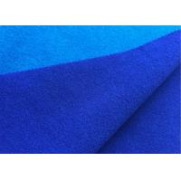 Wholesale Attractive Wool Velour Fabric Blue Sapphire Color For Women'S / Men'S Coat from china suppliers