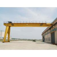 Wholesale 50 T Electric Semi Gantry Crane , Goliath Gantry Cranes For Cement Factory from china suppliers