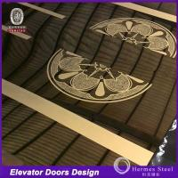 Wholesale China Hot sale Stainless Steel Designs Sheet for Elevator Door Cabins from china suppliers