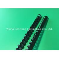 Wholesale Spirals Black Plastic Binding Combs 10mm 26 Rings Make Sheets Lie Flat from china suppliers