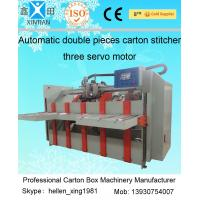 Wholesale Two Pieces Carton Stapler Cardboard Box Packing Machine Stitching Stapling from china suppliers