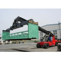 Wholesale 45 Ton Diesel Powered Container Reach Stacker With Cummins M11- C330 Engine from china suppliers