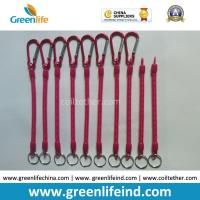 Buy cheap Customized Size and Red color 4'' to 40'' Multi-purpose Utilities Plier Coiled Lanyards from wholesalers