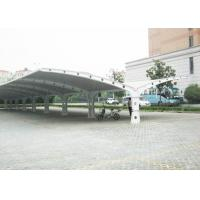 Wholesale High Safety Parking Shade Double Car Canopy Fabric Tension Structures from china suppliers